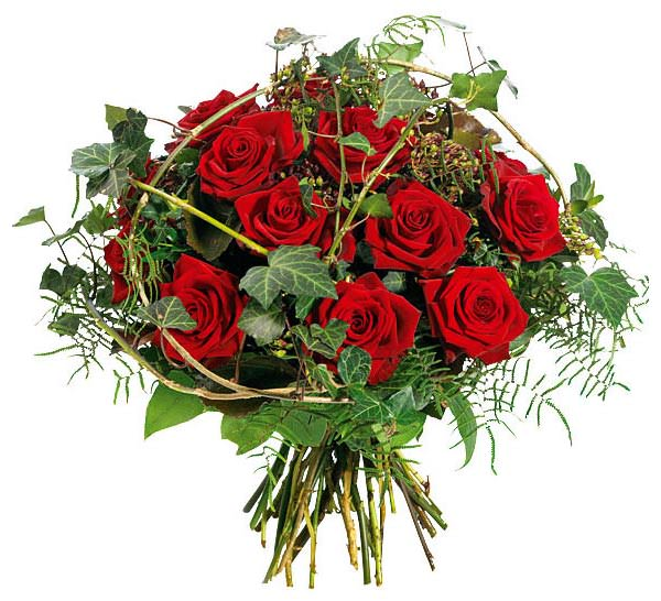 Кустовые розы для свадебного букета