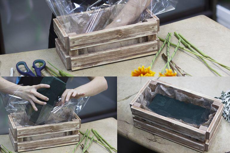 Как сделать букет из садовых цветов на первое сентября