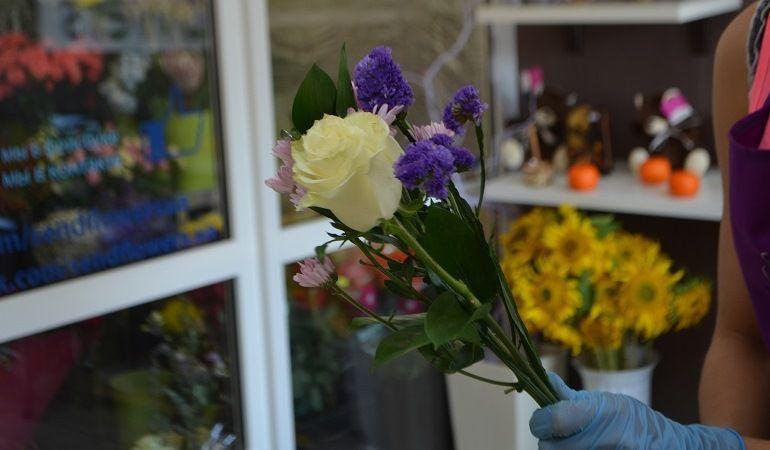 Подбор цветов для букета