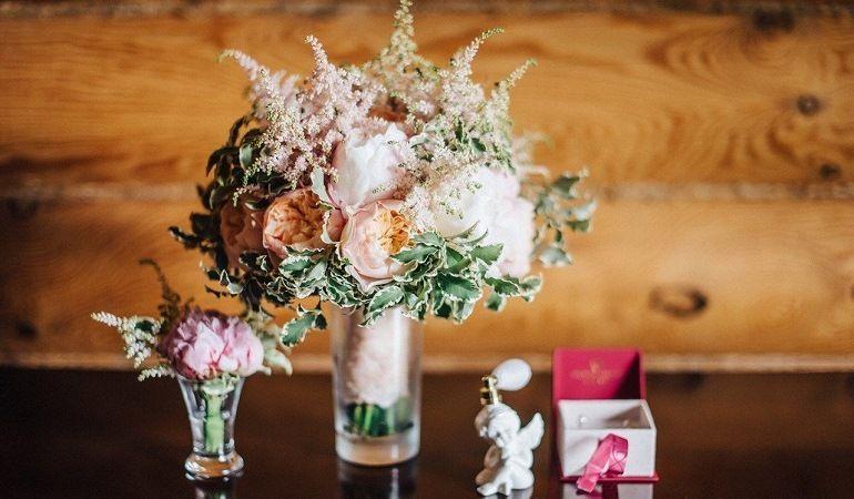 Букет невесты в рустикальном стиле
