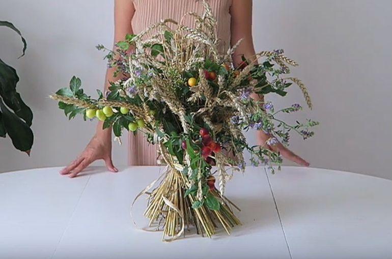 Мастер-класс по изготовлению букетов цветов