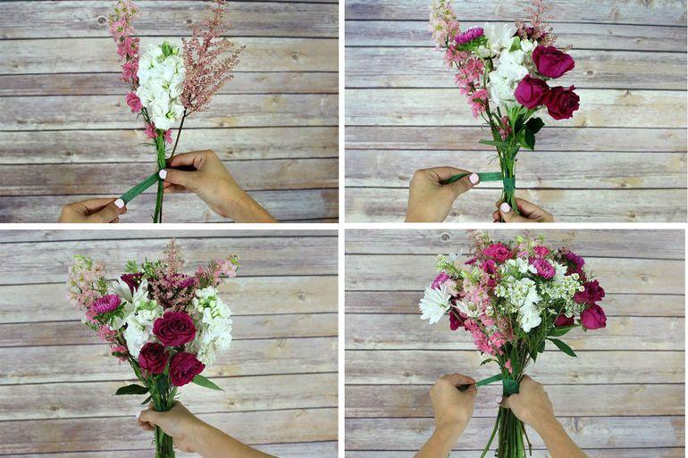 Шикарный букет полевых цветов