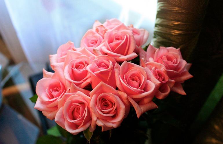 Подготовка роз