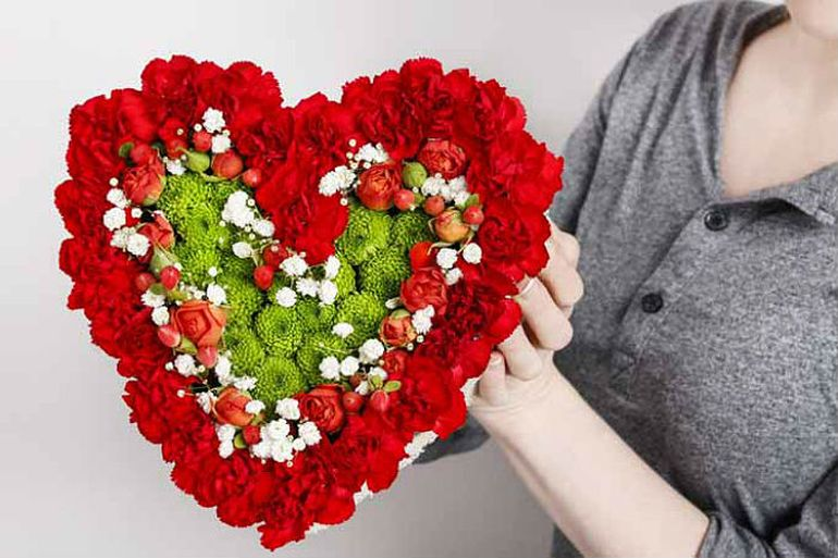 Мастер-класс по сборке яркого сердца к 14му февраля
