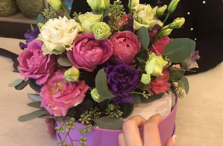 Мастер-класс по сборке цветочного сюрприза на десерт