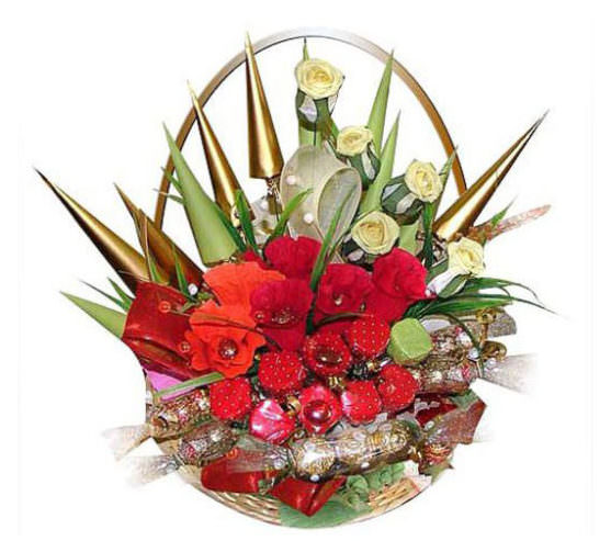 Цветы в виде конуса