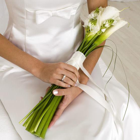 Свадебные букеты из калл фото