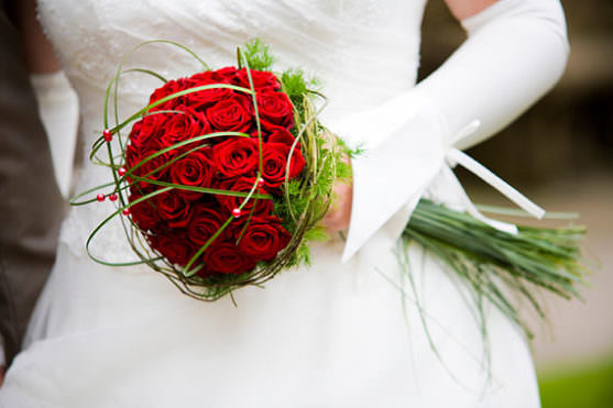 Свадебные букет - шар