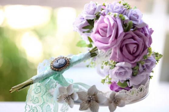 Свадебный букет по росту и комплекции невесты