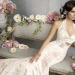 Свадебный букет и стиль свадебного платья
