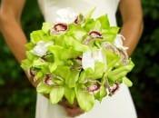 Свадебные букеты из орхидей фото галерея