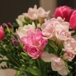 Свадебные букеты из тюльпанов
