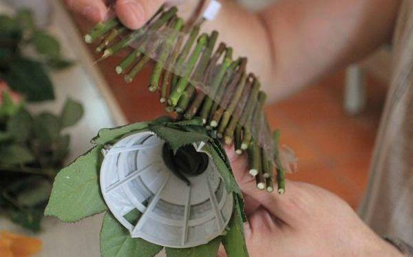 Как сделать букет из хризантем своими руками
