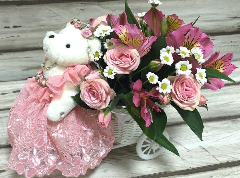 Букет для детей из цветов