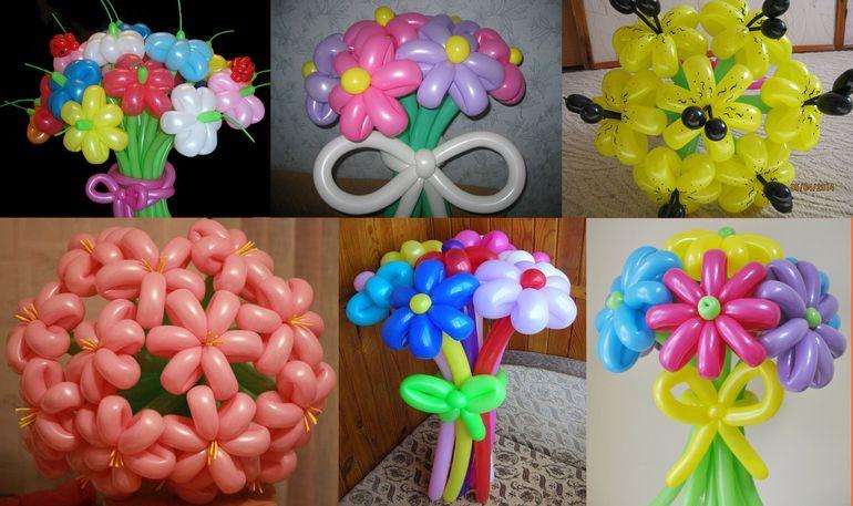 Букет для детей из шаров