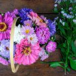 Как сделать оригинальные букеты из садовых цветов