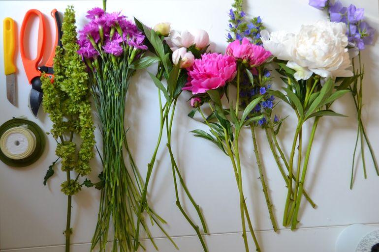 Садовые цветы в срезке