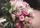 Букет из кустовых роз и альстремерий