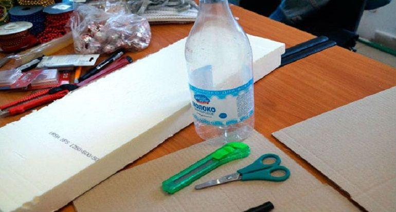 Инструменты для изготовления букета