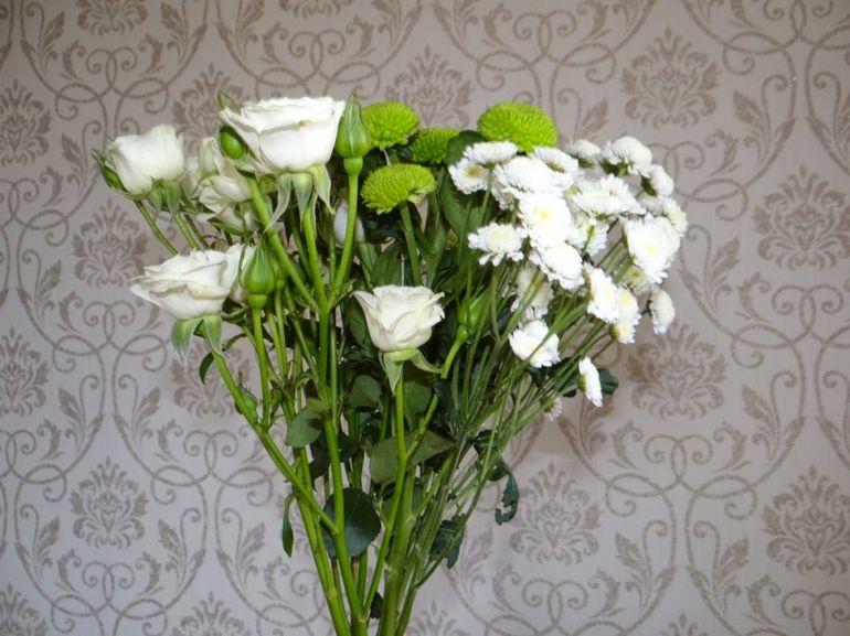 Как сделать букет невесты из гербер