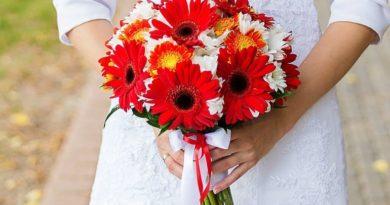 Как сделать букет невесты из хризантем