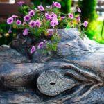 Как сделать кашпо для цветов из дерева