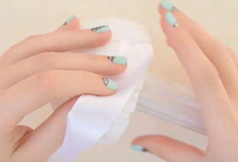 Как сделать букет невесты из лент