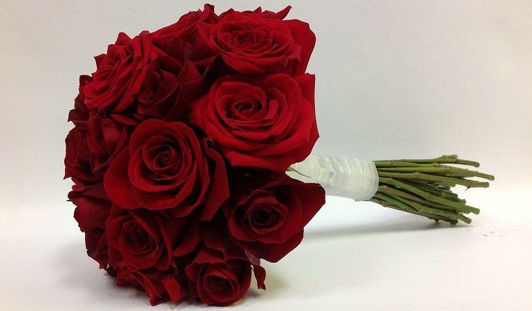 Красные розы для букета