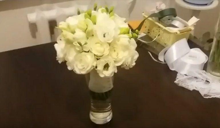 Букет из фрезий для невесты