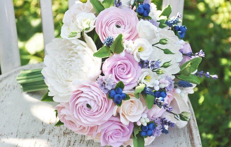 Как подобрать свадебный букет
