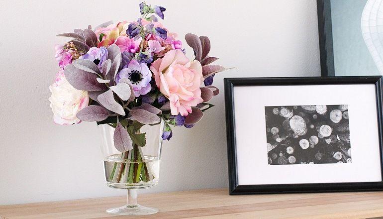 Как составить цветочную композицию