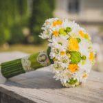 Как сделать букет из хризантем