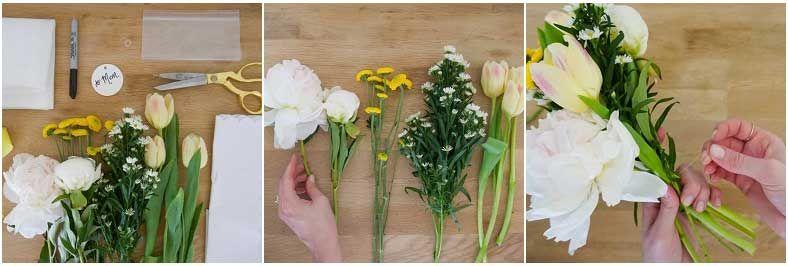 Подготовить цветы