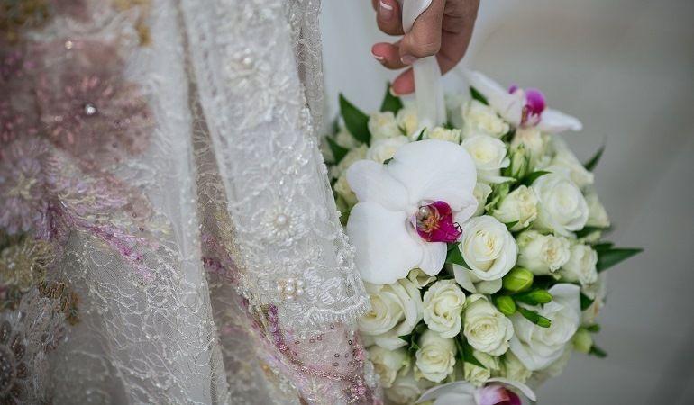 Свадебный букет - шар