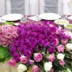 Оригинальные букеты из живых цветов