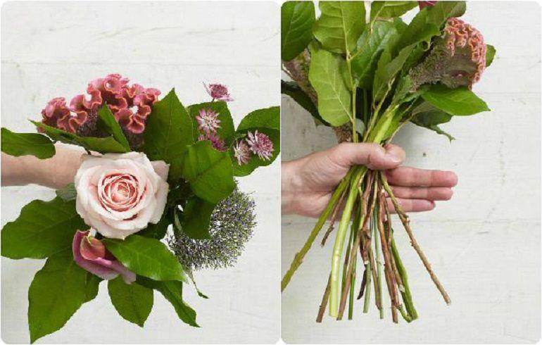Добавить другие цветы в спиральной технике