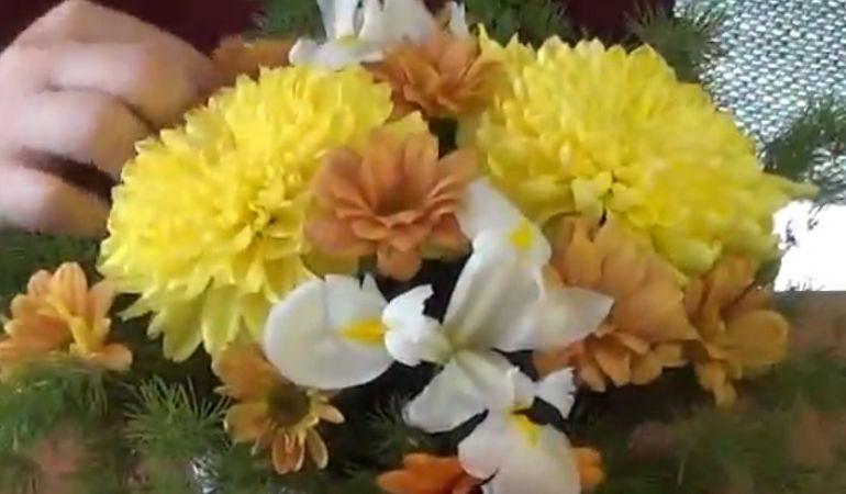Очистить цветы от стеблей