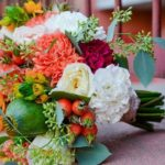 Составление букетов из живых цветов
