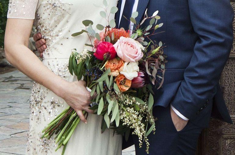 Букет - растрепыш для невесты