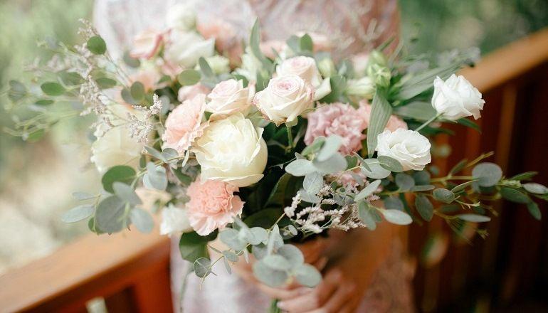 Букет растрепыш для невесты