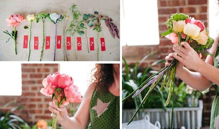 Какие цветы взять для букета - растрепыша