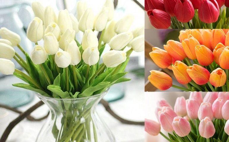 Искусственные цветы по технологии Real Touch