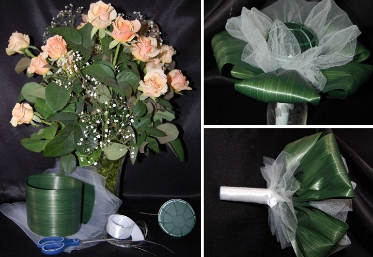 Гипсофила в цветочной композиции