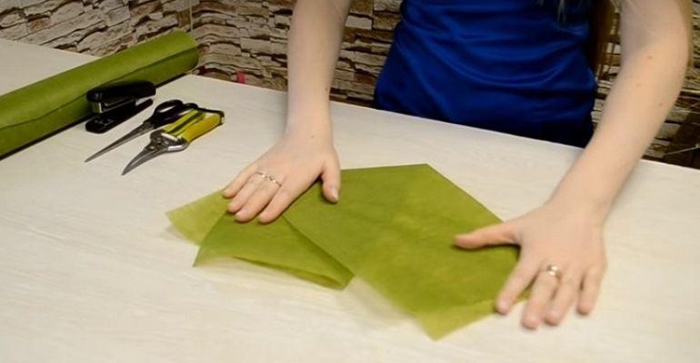 Заготовка из фетра для упаковки букета