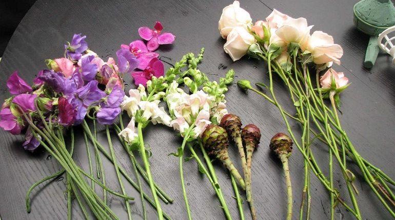 Цветы для букета
