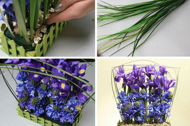 Стилграсс в цветочной аранжировке