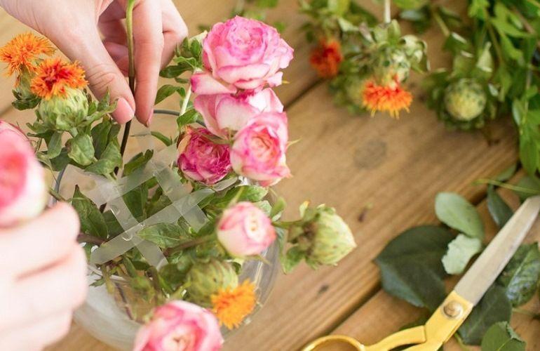 Добавление крупных цветов