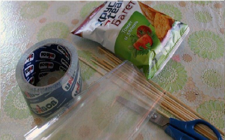 Сухарики для съедобного букета