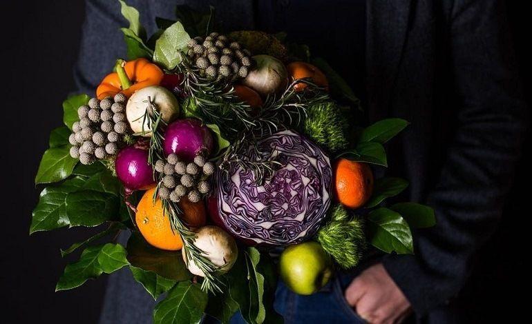 Мужской овощной букет