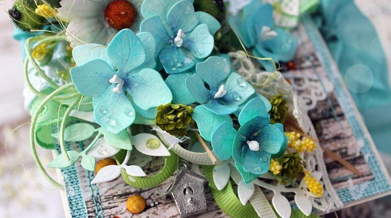 Тонированные цветы